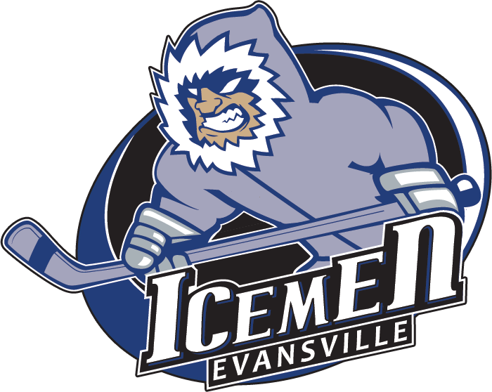 (12-11-0-4), who routed the evansville icemen (9-15-2-2) by a 5-2 final